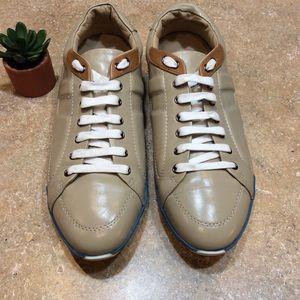 Hermes Shoes - HERMÈS 🔥HP🔥MENS LG H LOGO LEATHER SNEAKER